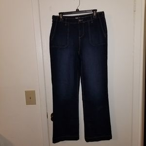 Style and company denim trousers